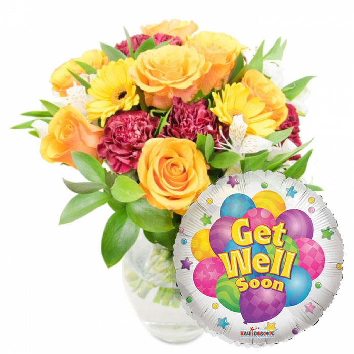 Send Get Well Wishes For Next Day Flower Delivery