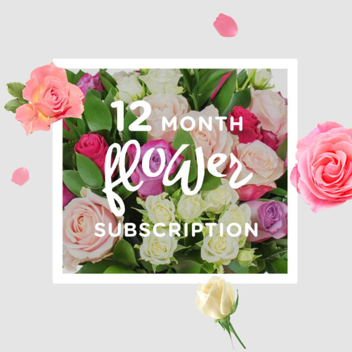 12 MONTH FLOWER SUBSCRIPTION