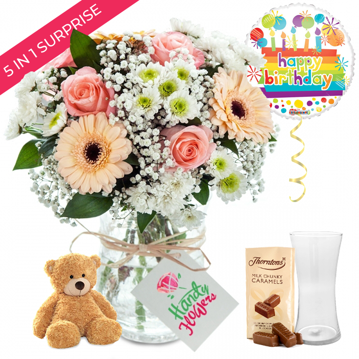 Count The Blessings Birthday Gift Excellent Flowers And
