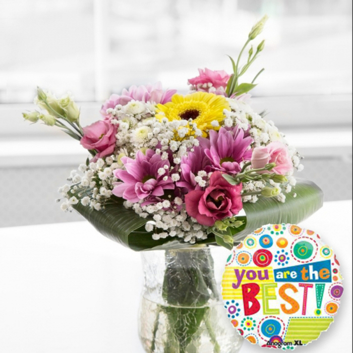 You Are The Best Beautiful Flower Arrangement By Handy Flowers