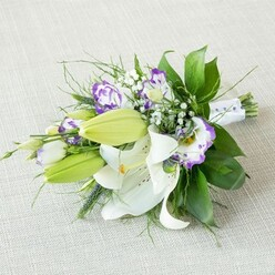 TODAY, TOMORROW, FOREVER BRIDESMAID BOUQUET