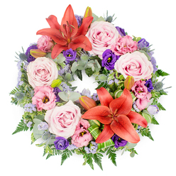DEEPEST CONDOLENCES WREATH