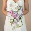 P.S. I LOVE YOU CASCADING BRIDAL BOUQUET