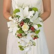 BE MINE CASCADING BRIDAL BOUQUET